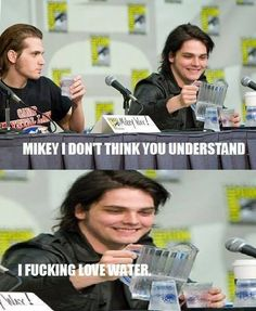My Chemical Romance ~ Gerard and Mikey Way XD