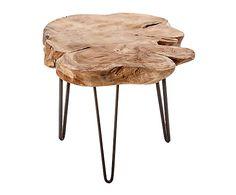 Wood Slice Coffee Table, Small Cottage Interiors, Tree Stump Table, Tree Stumps, Project Table, Wood Slab, Home Living, Lifehacks, Home Art