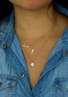 Loving this love necklace from helloberry's new collection! #helloberry #helloberryinc