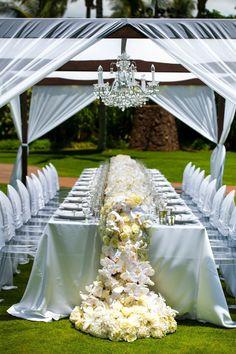 Elegant reception ideas.