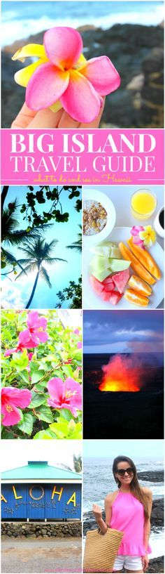 Big Island Hawaiian Travel Guide! If you're planning a trip to Hawaii and want to visit Hawaii's largest island (also known as Kailua-Kona), this is the article for you. Talk about serious wanderlust.