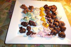BOMBONES DE PRALINÉ Y CORAZONES DE CHOCOLATE   4