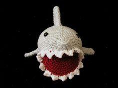 Free crochet pattern for shark