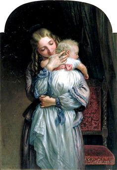 Charles West Cope - Mother and Child, 1852
