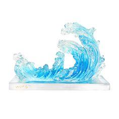 Голубая Волна Воды-активизирует удачу процветания для 2016.