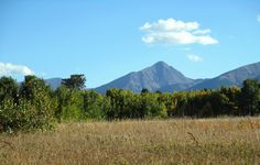 Horn Peak ~ the Sangre de Cristo Mountains ~ Undeniably Beautiful! Near the Historic Pines Ranch