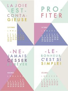 Printable : tags calendriers  2014 gratuits à télécharger sur le blog de kesi'art