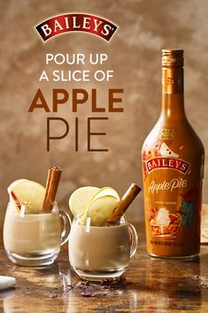 "No baking required for this ""slice"" of pie! Get all the fall feels in your Chai Latte with NEW Baileys Apple Pie."