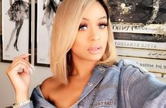 Black Girls Hairstyles, Cute Hairstyles, Hairdos, Jilly Anais, Short Braids, Black Makeup, Coloured Hair, Flawless Skin, Beauty Make Up
