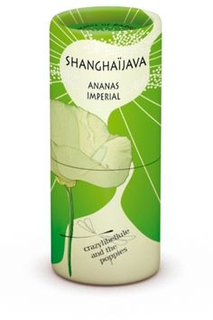 ShanghaiJava Ananas Imperial Crazylibellule and the Poppies