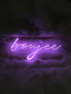 boujee Neon Sign 18 inches Available in: -Blue -Cool White -Pink -Purple (pictured) -Red -Yellow PLEASE READ: These signs are not commercially or prof. Dark Purple Aesthetic, Lavender Aesthetic, Violet Aesthetic, Boujee Aesthetic, Bad Girl Aesthetic, Aesthetic Collage, Aesthetic Pictures, Aesthetic Bedroom, Aesthetic Drawing