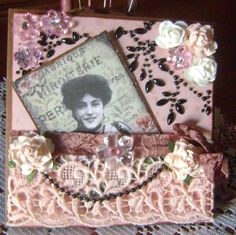 Victorian Mothers Day Cards | victorian handmade card