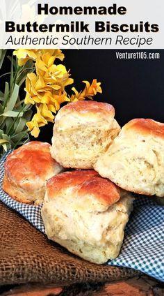 Biscuit Bread, Baking Biscuits, Easy Biscuits, Fluffy Biscuits, Baking Recipes, Cookie Recipes, Bread Recipes, Southern Buttermilk Biscuits, Biscuits From Scratch