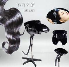Hairdressing Home Hair Salon Washing Height Adjustable Shampoo Basin Treatment