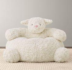 kids lamb floor pillow - Google Search