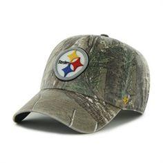 Men's Adjustable Camo Pittsburgh Steelers Hat