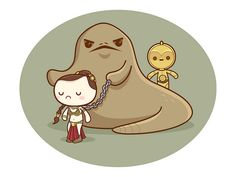 kawaii star wars