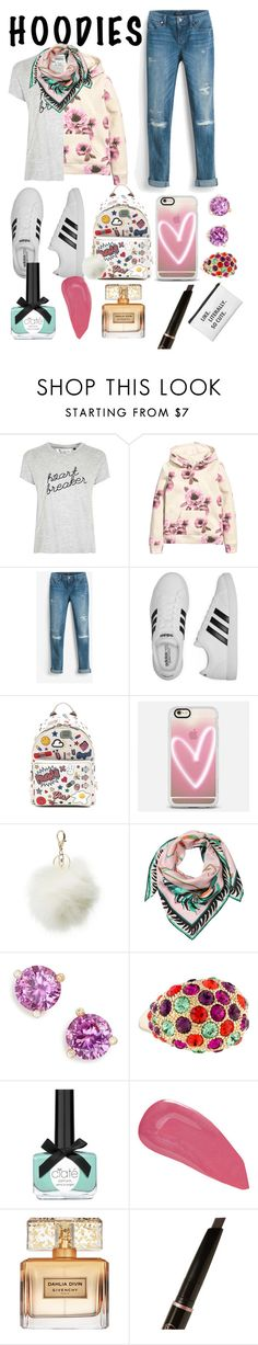 """Hoodies For Back-to-School"" by piscesgal0xy004 ❤ liked on Polyvore featuring Tee and Cake, H&M, White House Black Market, adidas, Anya Hindmarch, Casetify, Charlotte Russe, Emilio Pucci, Kate Spade and Ciaté"