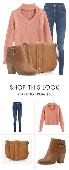 """""""Outfit #1952"""" by lauraandrade98 on Polyvore featuring moda, J Brand, Express y Charlotte Russe"""