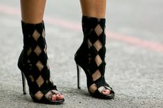 Amazing checked shoes