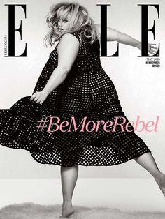 V svojem intervjuju se odpre o tem, da je v Hollywoodu edina ženska s takšno velikostjo in starostjo.