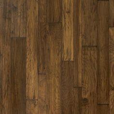 "Mountain View Hickory Bark 3/8 x 3 1/4"" - 5"" - 6 1/2"" Mixed In. Hand Scraped | Engineered Hardwood Flooring | WeShipFloors"