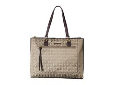 TOMMY HILFIGER Naomi - Tote. #tommyhilfiger #bags #shoulder bags #hand bags #leather #tote #