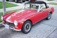This was my first car- 1974 MG Midget. What fun. Austin Healey Sprite, Mg Midget, Mg Cars, First Car, Sprites, Buses, Engineering, Models, Summer