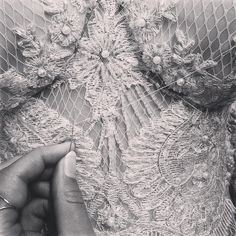 #persycouture One week for Couture Fashion Week ✂️work in progress