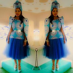 What a beautiful bride you were Sibongile , thank you for wearing @nn_vintage at your traditional ...