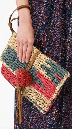 60+ Daily Useful and Cool Crochet Bag Pattern Ideas Part 55