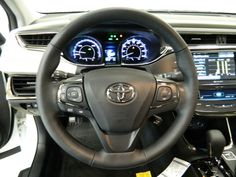 Dash of the New Toyota Avalon