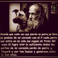 Si los perros no van al cielo, cuando muera, quiero ir a donde ellos van.
