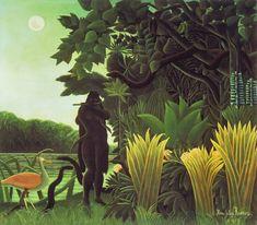 Henri Rousseau (1844-1910) La encantadora de serpientes