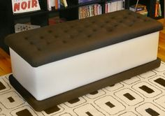 Ice cream sandwich bench