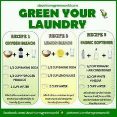 Green Your Laundry | DIY OxiClean