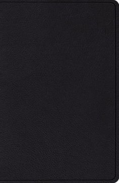 ESV Verse-By-Verse Reference Bible-Black Top Grain Leather