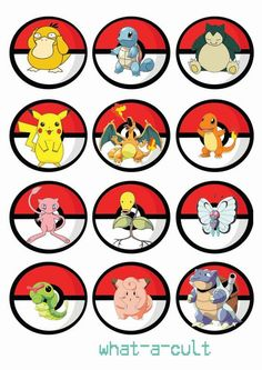 toppers festa pokemon