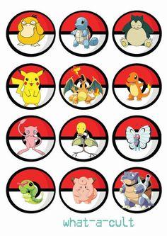 toppers festa pokemon