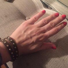 Jcrew leather wrap bracelet Jcrew leather wrap bracelet. Olive green/brown J. Crew Jewelry Bracelets