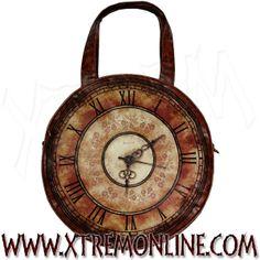 Bolso con asas Reloj Victoriano #Steampunk