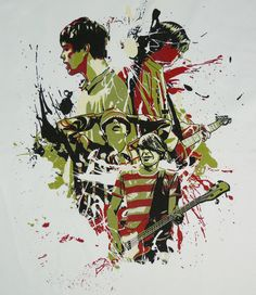 Stone Roses T shirt - weblink is broken, but i want this shirt if i ever find it :)
