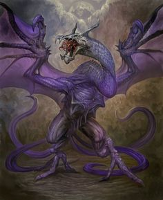 Snallygaster (Dragon)(Large) – When the Wyvern evolves it turns into the extremely fast Snallygaster. These are Wyverns that got affected by some Alien parasite, disease or corruption turning them unnatural quick but also abominable. When another creature watches the Snallygaster for too long they are overwhelmed by a sick feeling of nausea and they get visions of alien things growing inside of them they have to remove. (German)