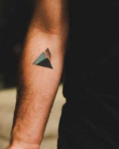 Small Hipster Tattoo