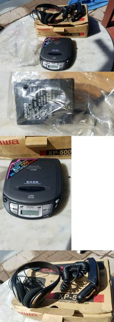 Personal CD Players: Vintage Aiwa Compact Portable Walkman Disc Cd Player Xp-500 New In Original Box BUY IT NOW ONLY: $45.0