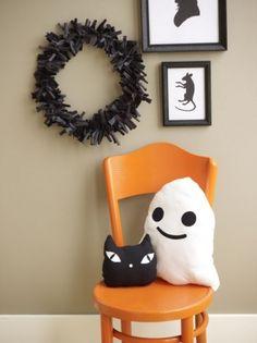 Идеи для Хэллоуина: декорации.