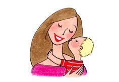 Kanako Kiss Illustration, Illustration Mignonne, Character Illustration, Cartoon Illustrations, My Little Kids, My Little Paris, Pretty Art, Cute Art, Cartoon People