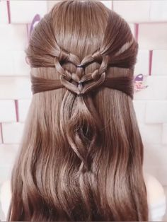 Visit to get around hairstyle tips, nail art and a variety of needs for a healthy body Cute Hairstyles For Medium Hair, Medium Hair Styles, Girl Hairstyles, Braided Hairstyles, Curly Hair Styles, Korean Hairstyles, Wedding Hairstyles, Japanese Hairstyles, Hairstyles Videos