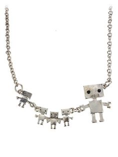Collier robots Fad Treasures