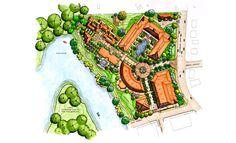 backyard design – Gardening Tips Hotel Architecture, Landscape Architecture Design, Landscape Plans, Site Development Plan Landscapes, Site Plan Design, Plot Plan, Resort Plan, Spa Design, Urban Design
